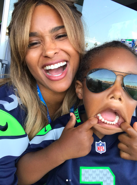 Ciara's Son Did The Most Adorable Thing For Her Birthday
