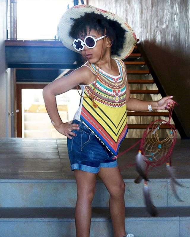 See These Extremely Adorable Celebrity Kids Flaunt Their Natural Hair