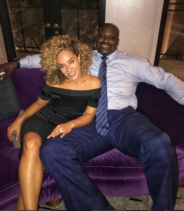 shaquille o neal and his longtime girlfriend laticia rolle essence