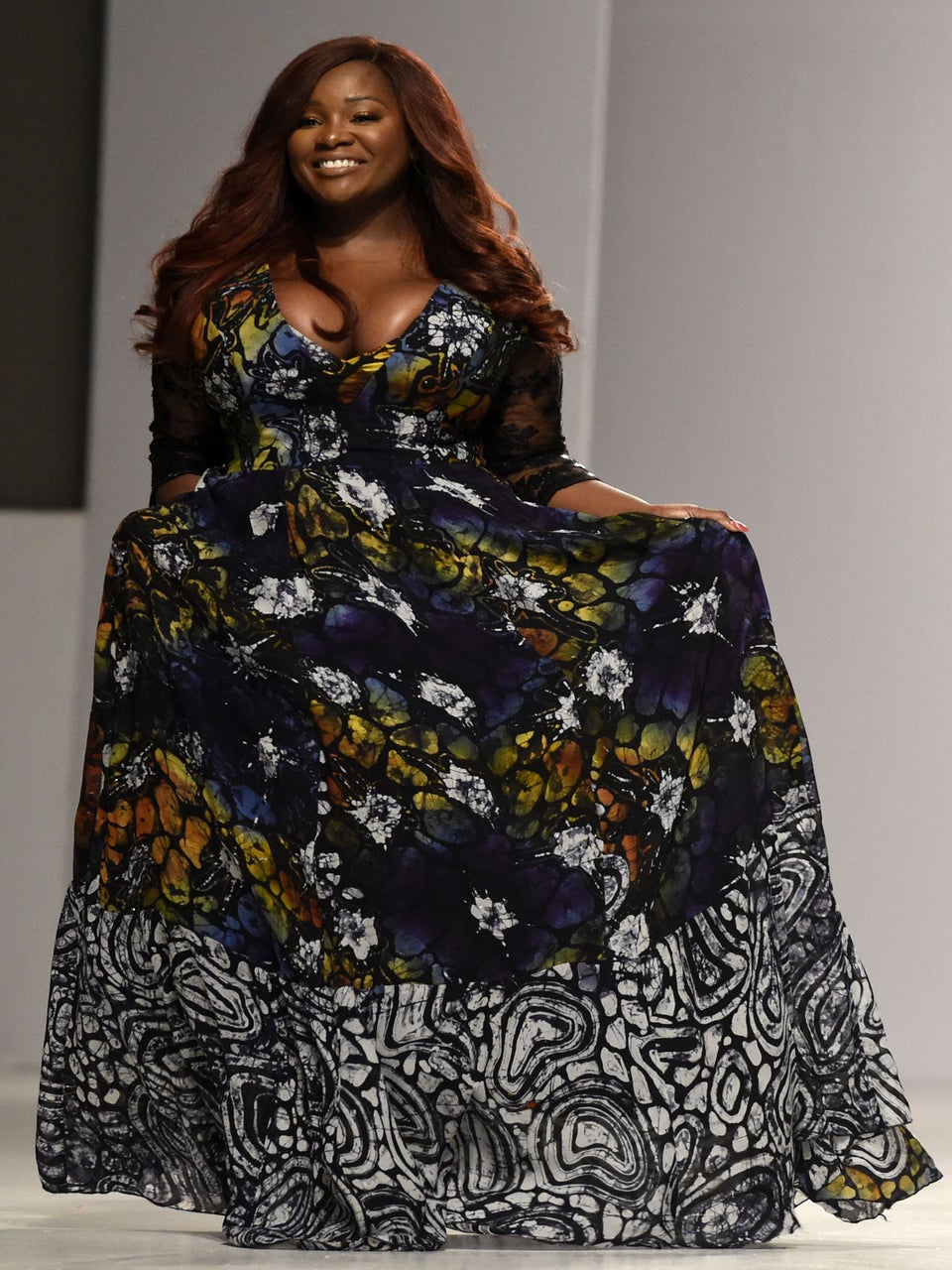 Curvy Beauties Light Up TheRunway On Day 2 Of Lagos Fashion Week In Nigeria