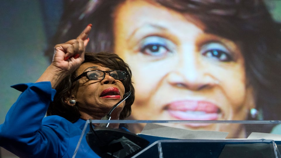 Maxine Waters To Women's Convention: Women Must Lead The Resistance Movement Against Trump