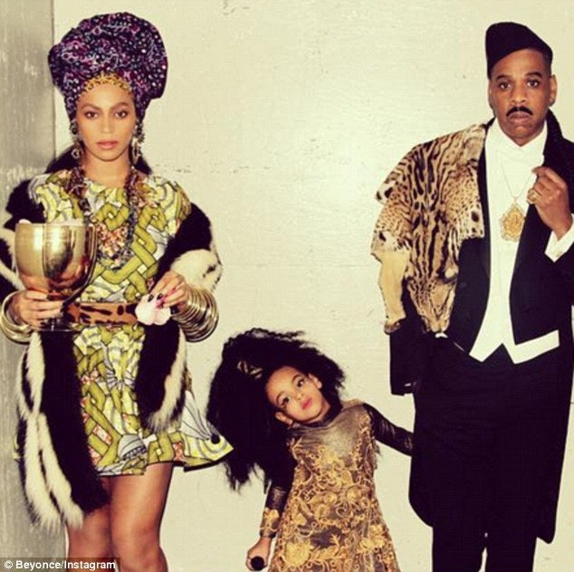 Beyoncé And JAY Zu0027s Family Halloween Costumes Through The Years