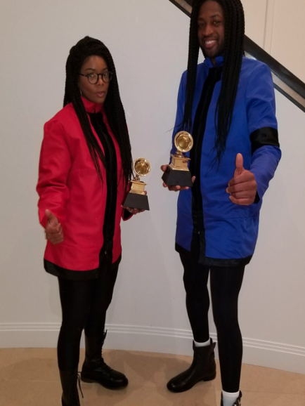 Gabrielle Union and Dwyane Wade's Amazing Milli Vanilli Costume Wins Halloween 2017