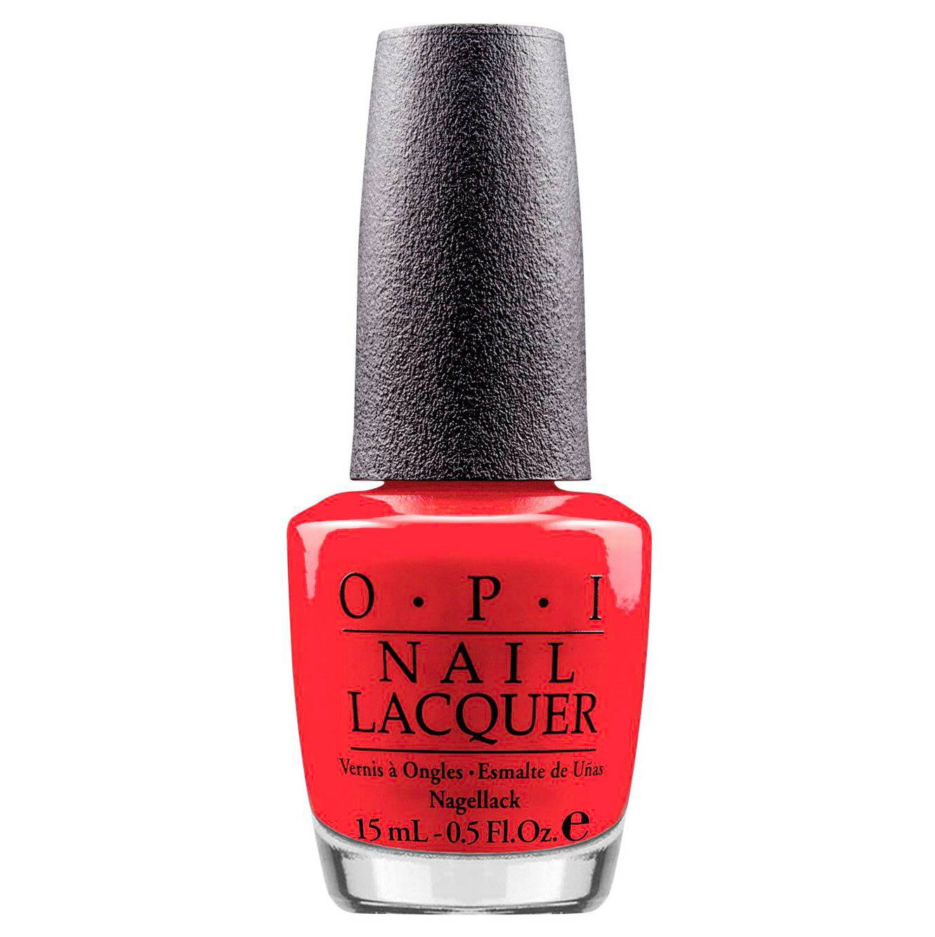 OPI Nail Lacquer in Red Lights