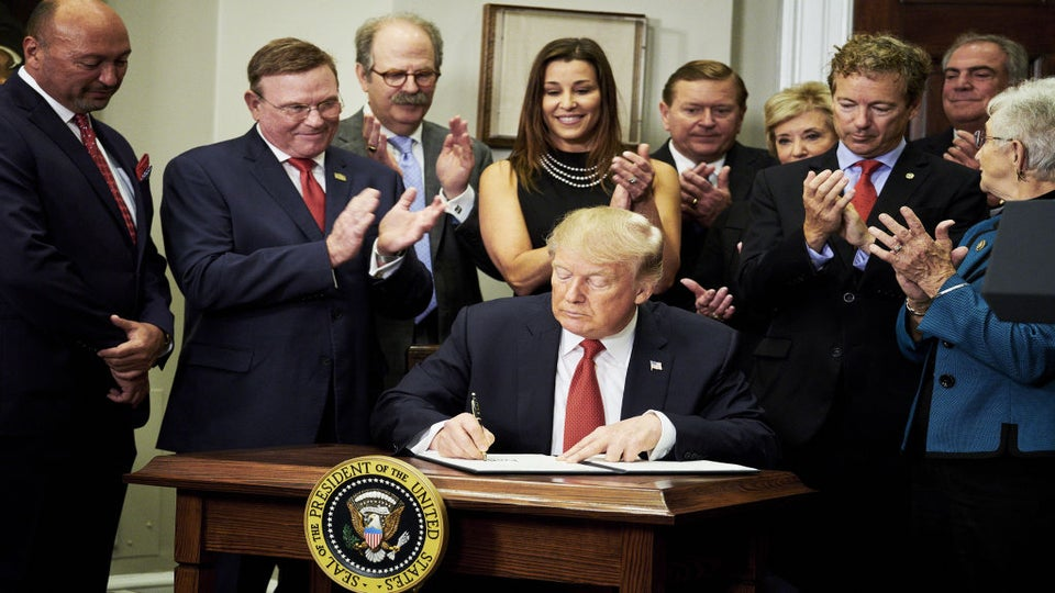 Trump Signs An Executive Order To Weaken Obamacare