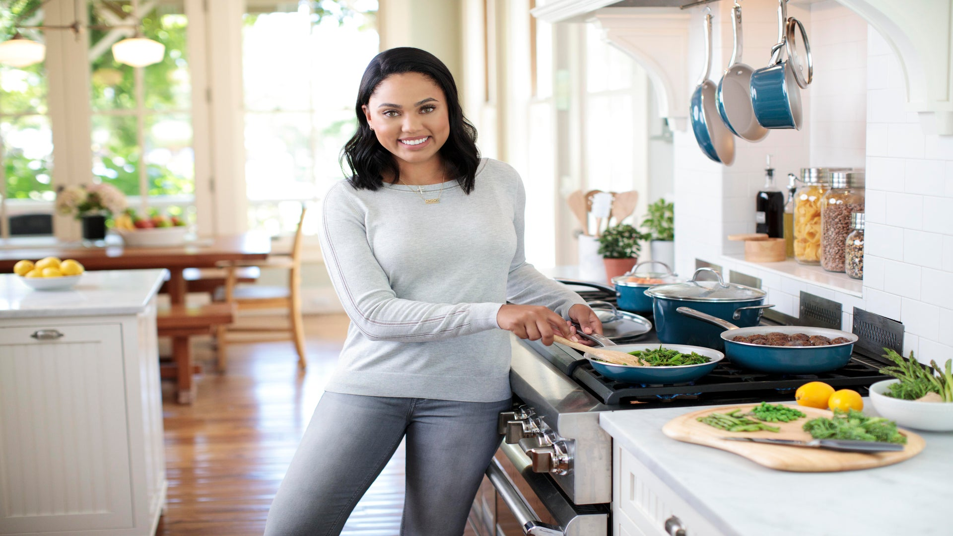 Ayesha Curry's Debut Cookware Line Has Arrived—Here's What We're Buying From It