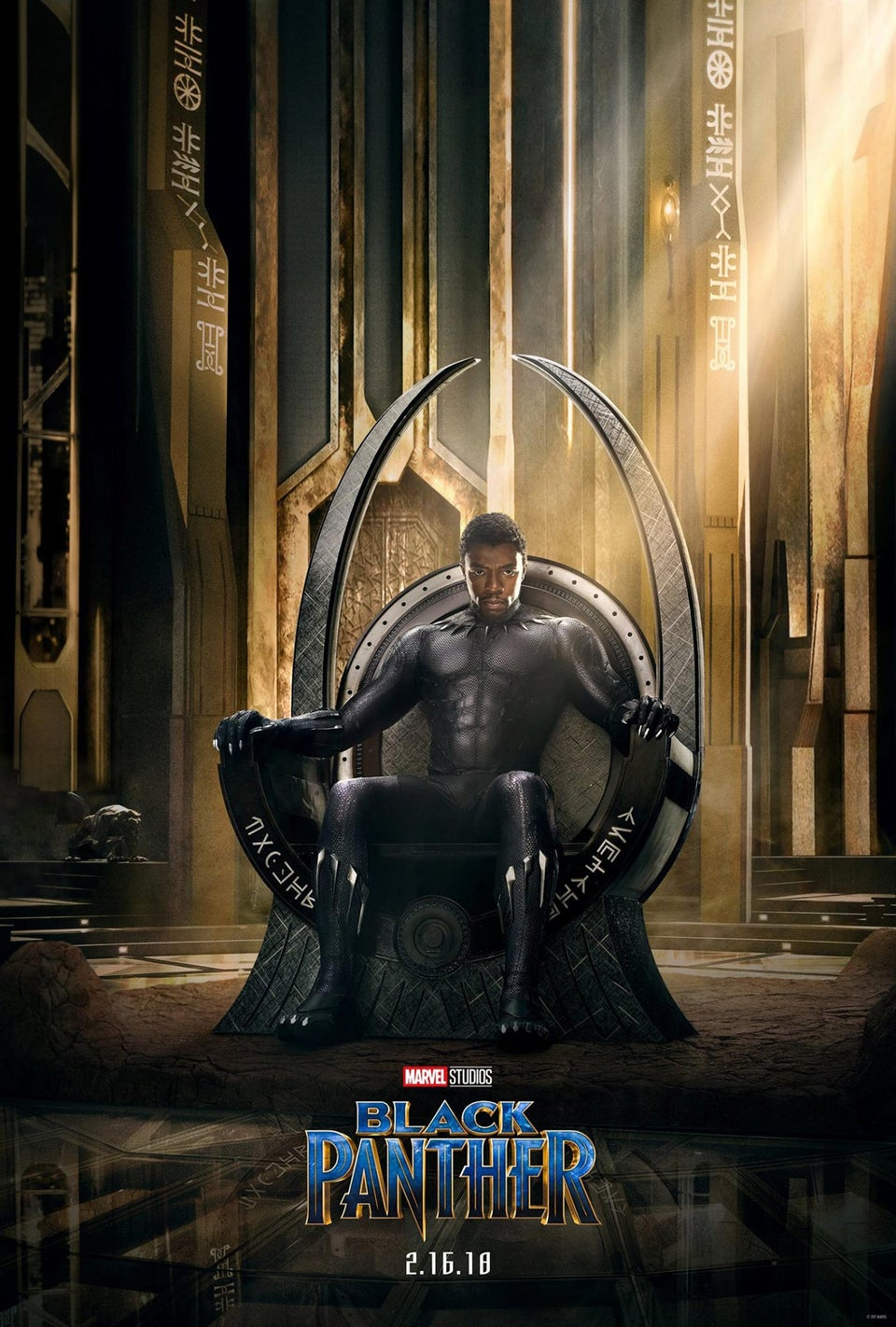 'Black Panther' Is Set To Make Marvel Movie History