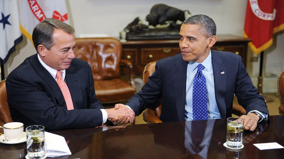 John Boehner On Why President Obama Never Snuck Cigarettes: 'He's Scared To Death Of His Wife'