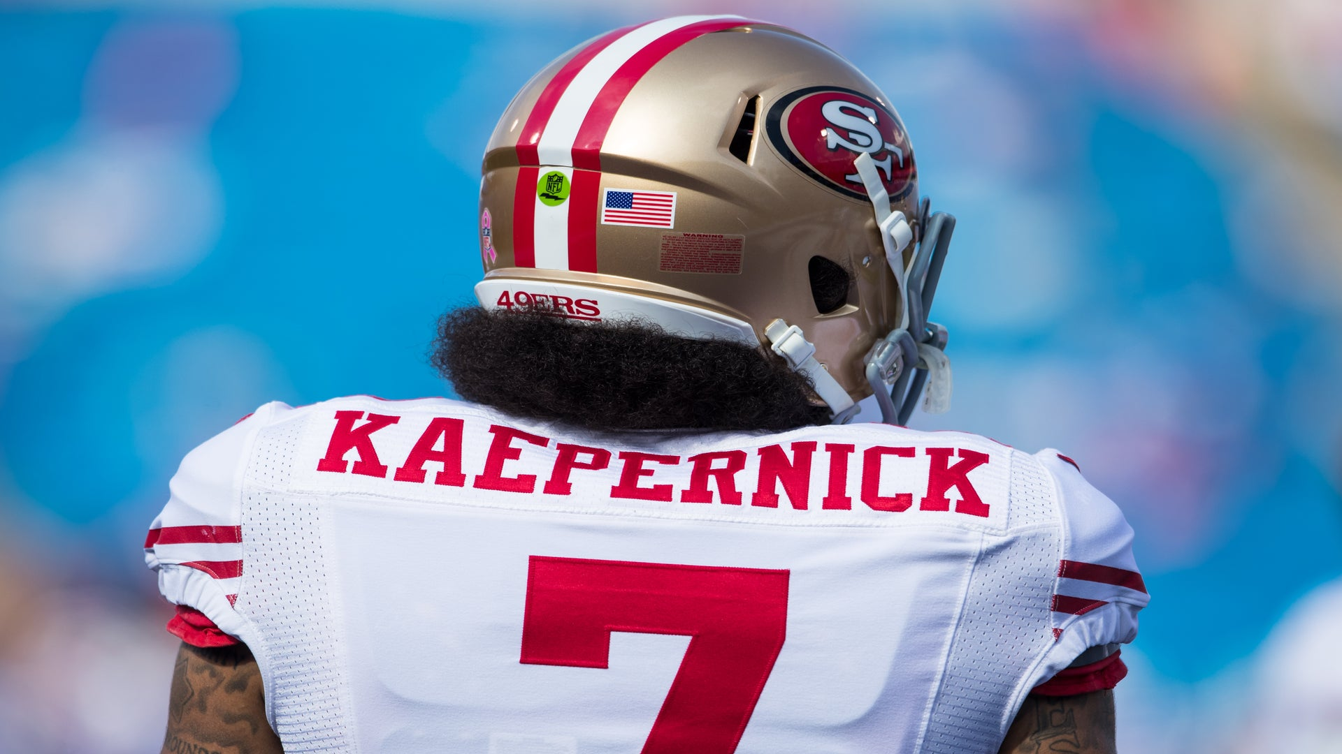Colin Kaepernick's Jersey Displayed at the MoMA as Symbol of Social Justice Activism