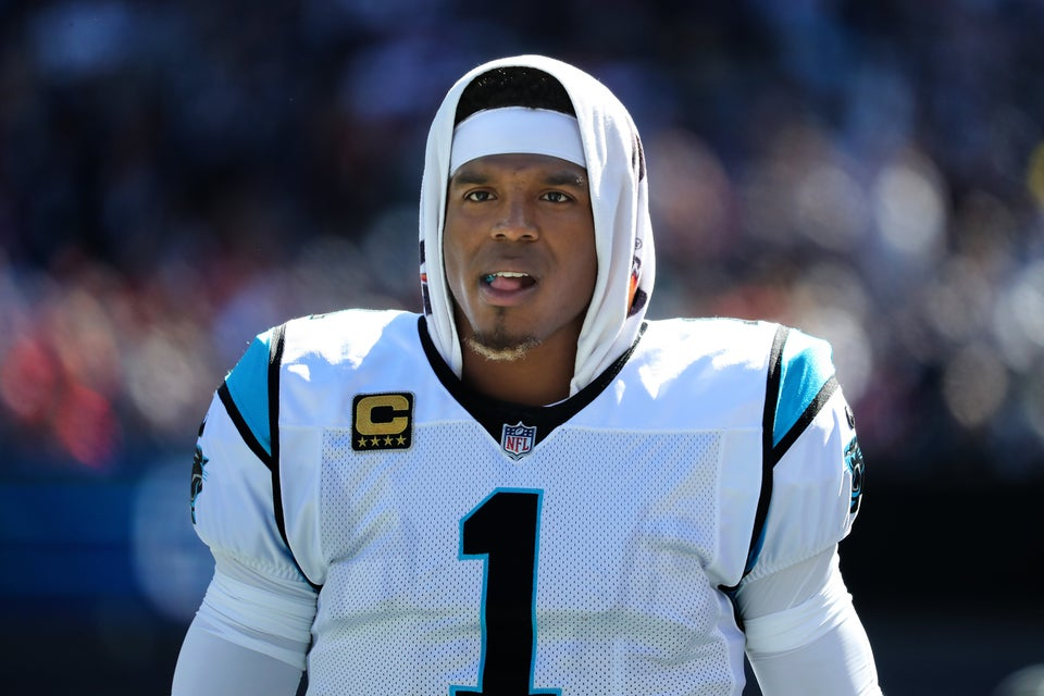 NFL's Cam Newton Slammed For Laughing At A Female Reporter