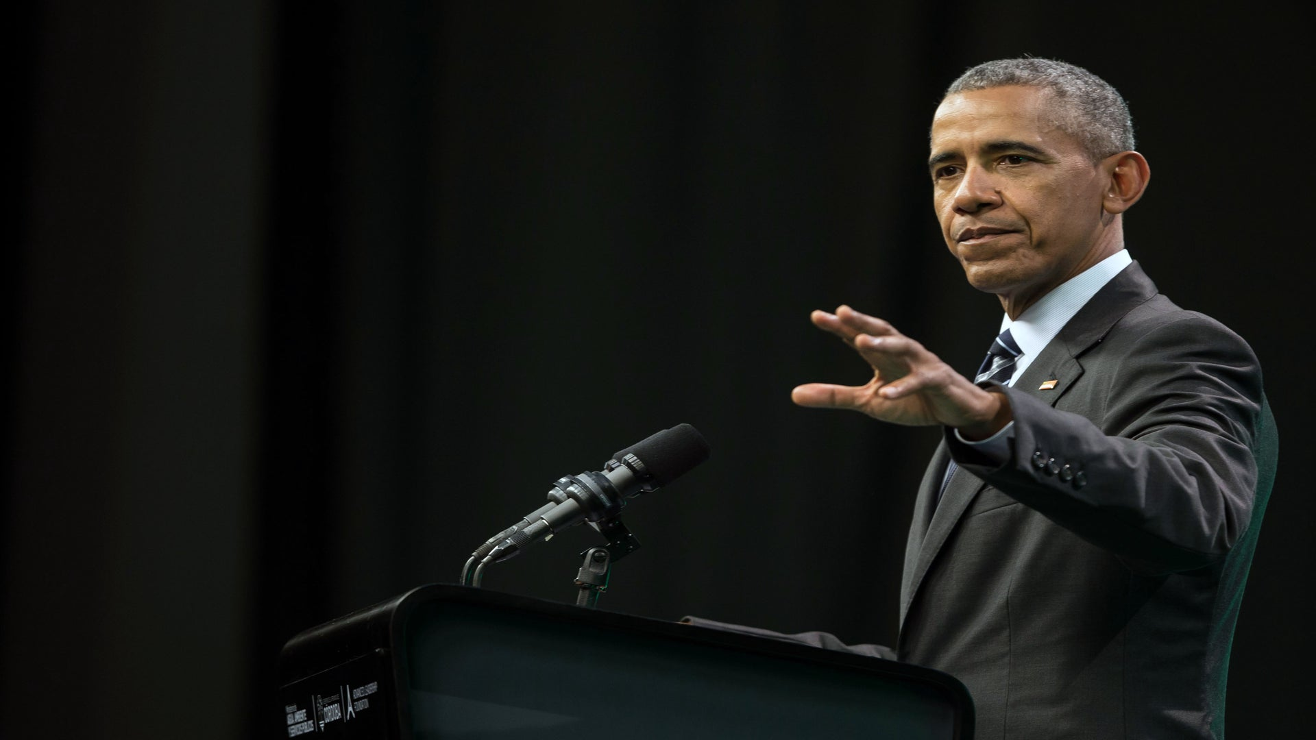 Barack Obama Returns To The Political Arena For The First Time Since Leaving the White House