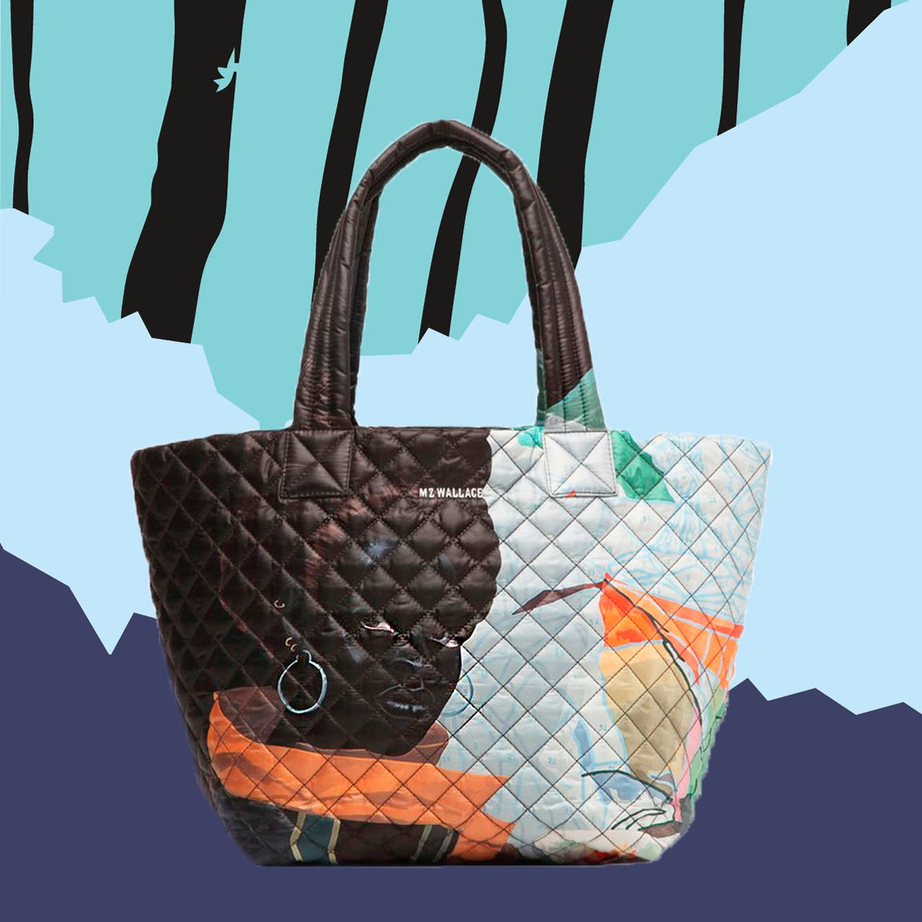 MZ Wallace Teams Up With Artist Kerry James Marshall For A Stunning Bag That Is A True Masterpeice