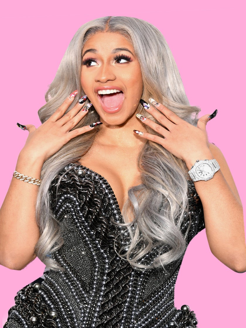 Cardi B Gives a Close-Up Look at Her Stunning 8-Carat Engagement Ring