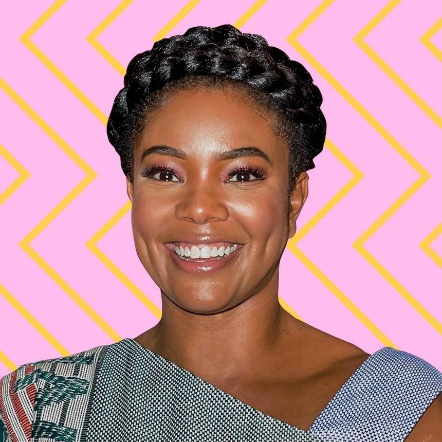 Daily Beauty Buzz: Gabrielle Union's Pink Glitter Eyeshadow