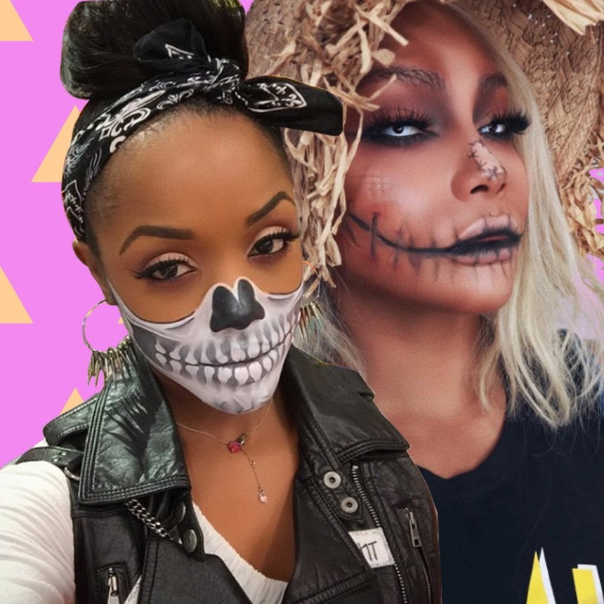 These Easy YouTube Halloween Makeup Tutorials Are a Must See