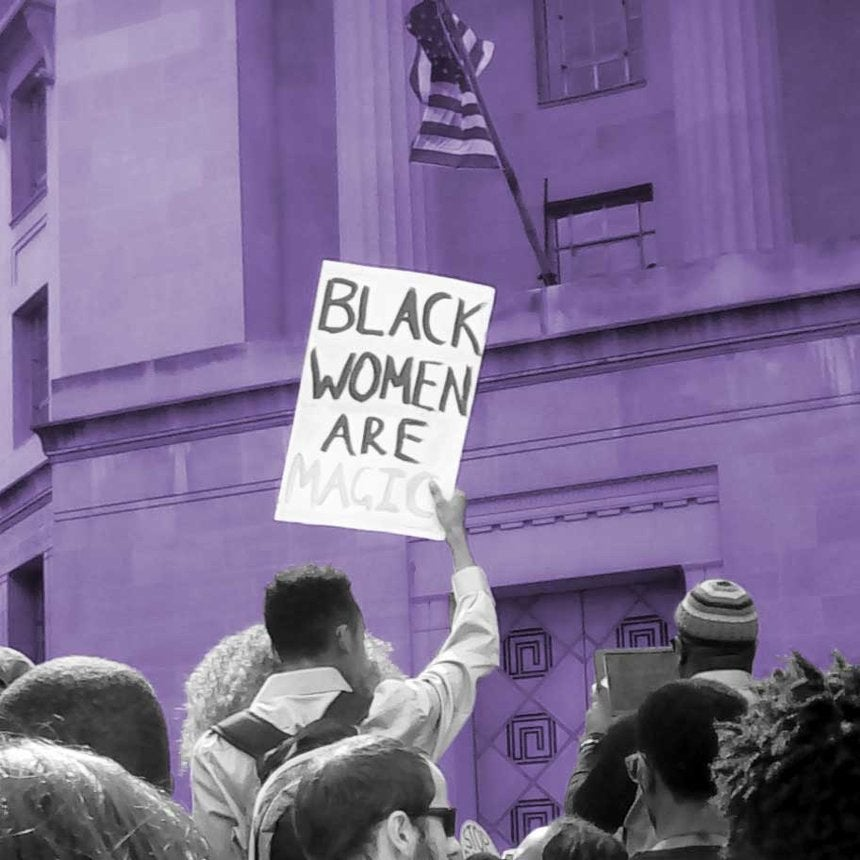 15Powerful Images From The March For Black Women