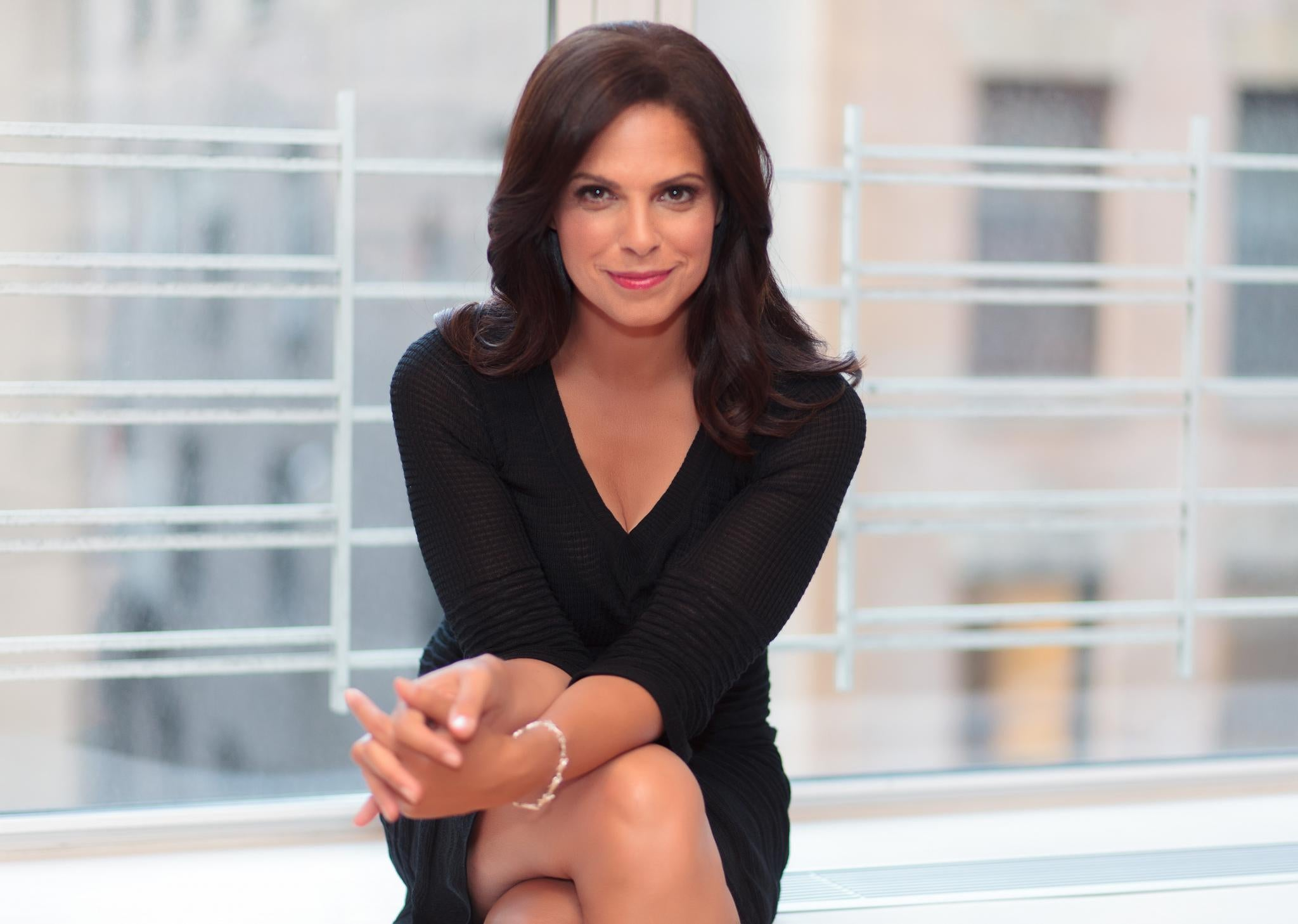 Soledad O'Brien Remembers Her Late Parents Taught Her To 'Be Bold'