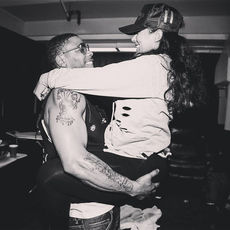 Nelly's Girlfriend Posts Clip About Their 'Fun' Relationship Amidst His Rape Allegations
