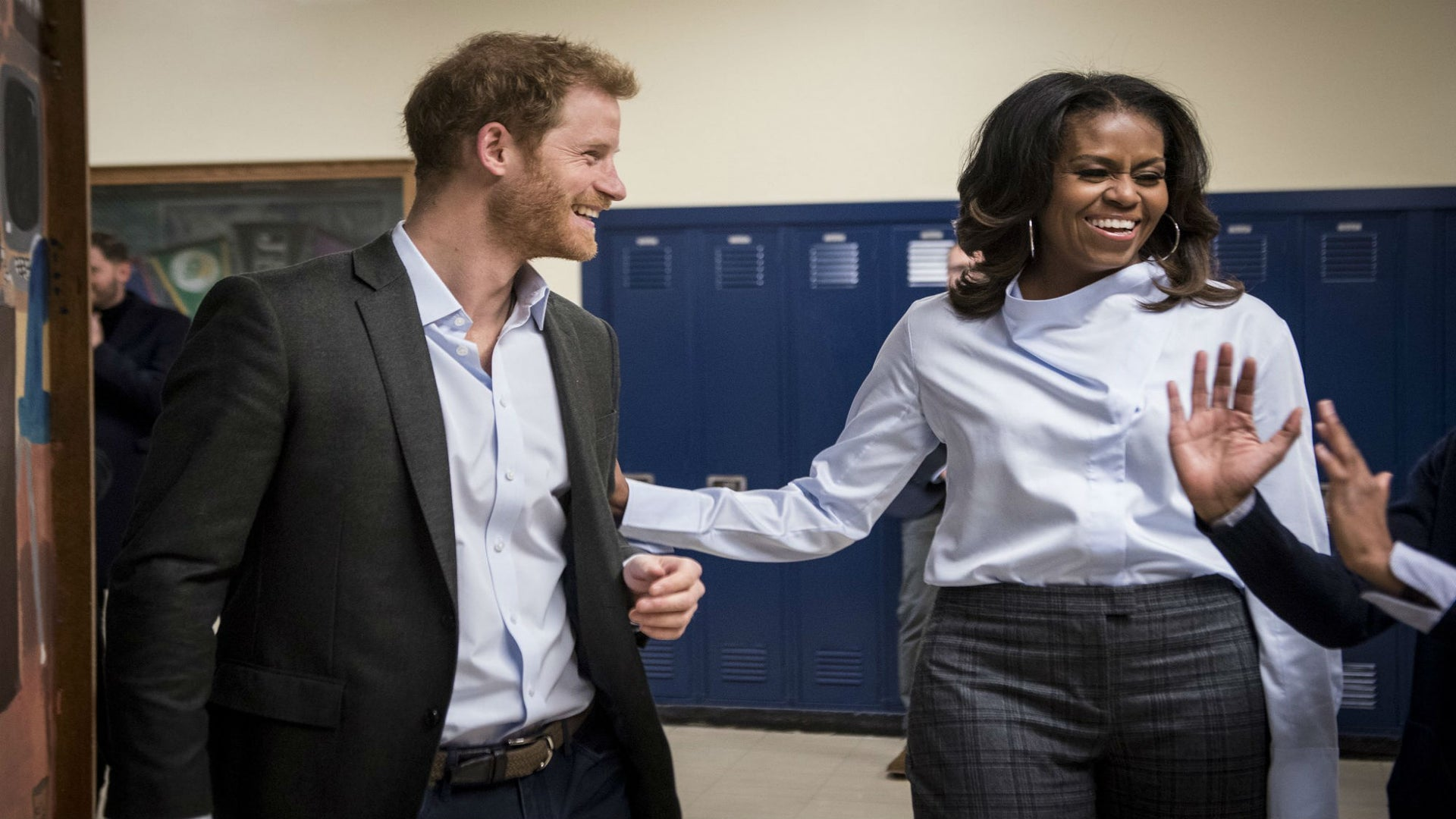 Prince Harry And Michelle Obama Made These Chicago High School Students' Day