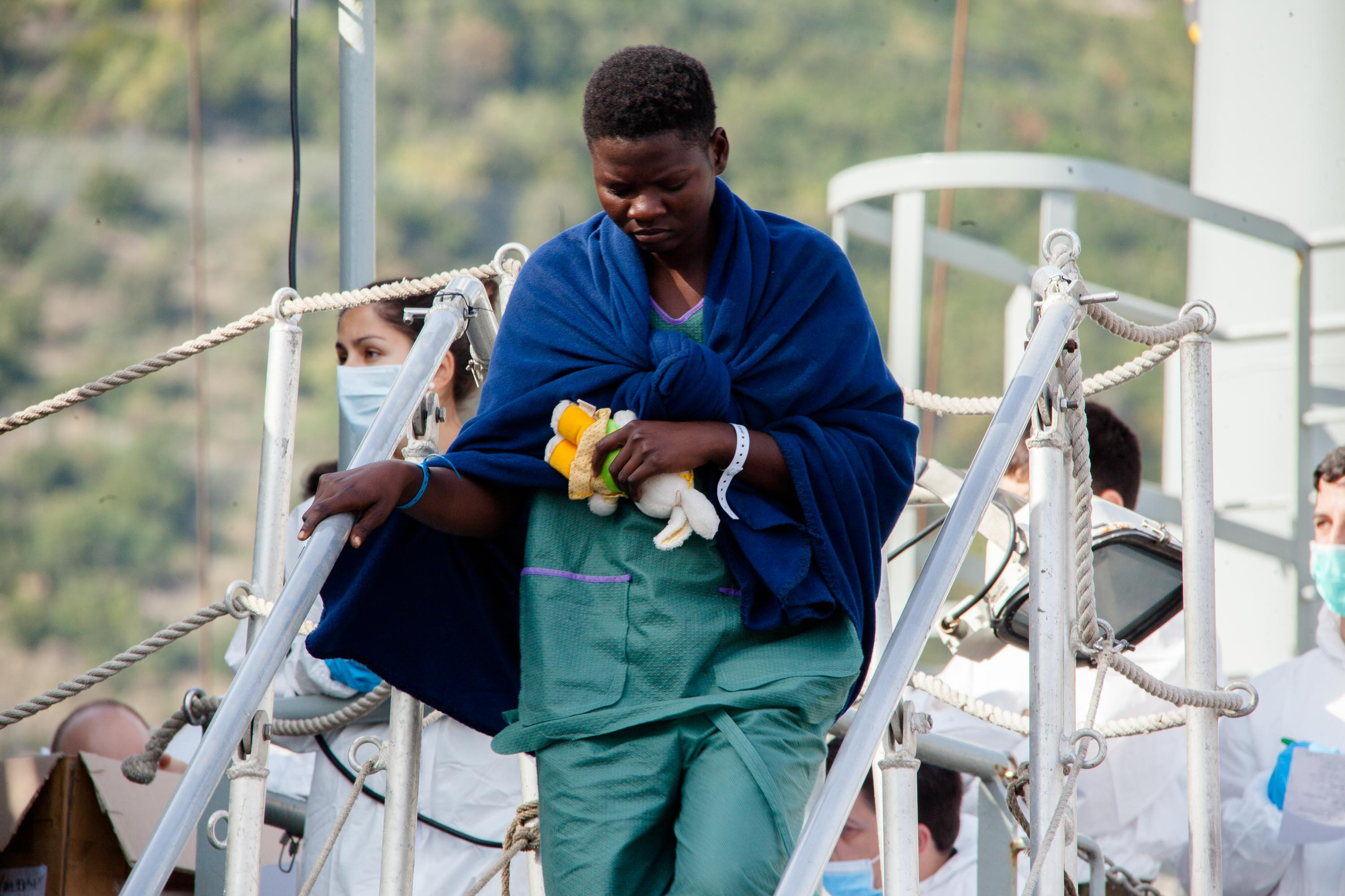 Italy Is Investigating The Deaths Of 26 Nigerian Women & Girls Whose Bodies Were Found At Sea