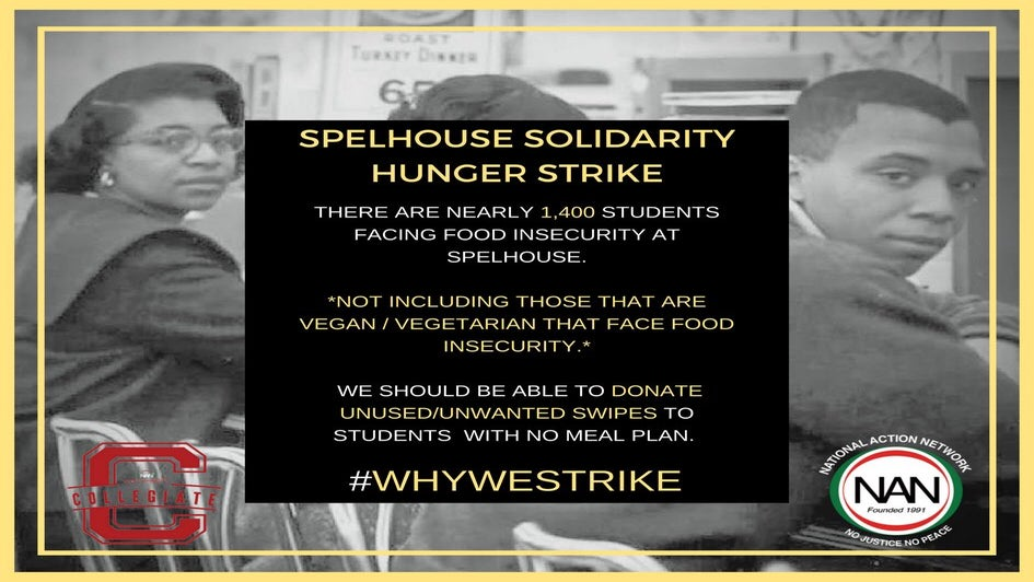 SpelHouse Students Are Protesting To Spread Awareness About Student Hunger & Homelessness On Campus