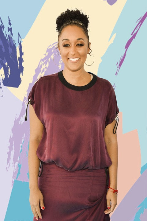 Tia Mowry Embraces Her Gorgeous Grey Strands