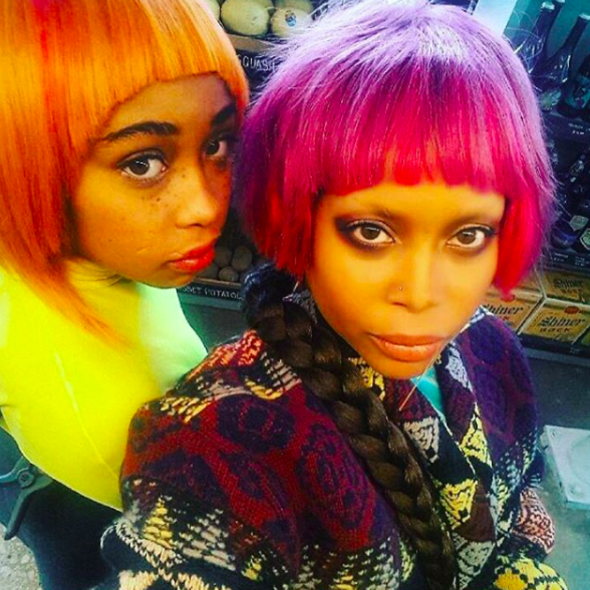 Erykah Badu And Daughter Puma Are Giving Us Double Vision In This Epic Photo Shoot
