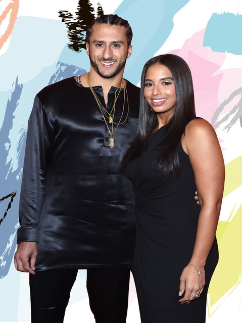 Colin Kaepernick's Girlfriend Nessa Diab Says She's Fortunate To Have Him By Her Side