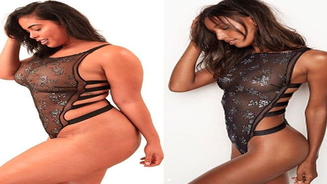 Curvy Model Recreates Victoria's Secret Ads—And Absolutely Kills It!