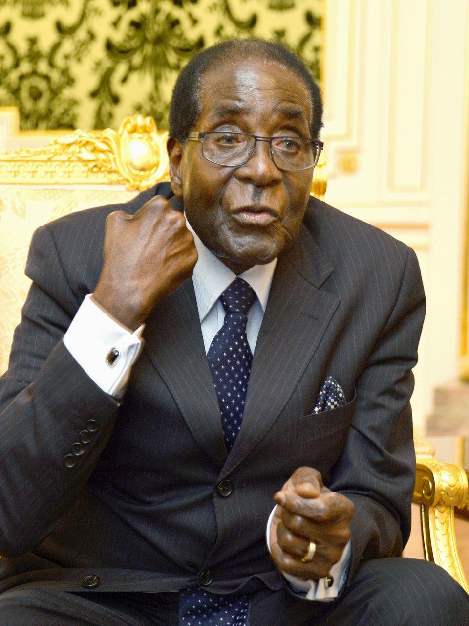 Zimbabwe's President Robert Mugabe Under House Arrest After Apparent Military Coup