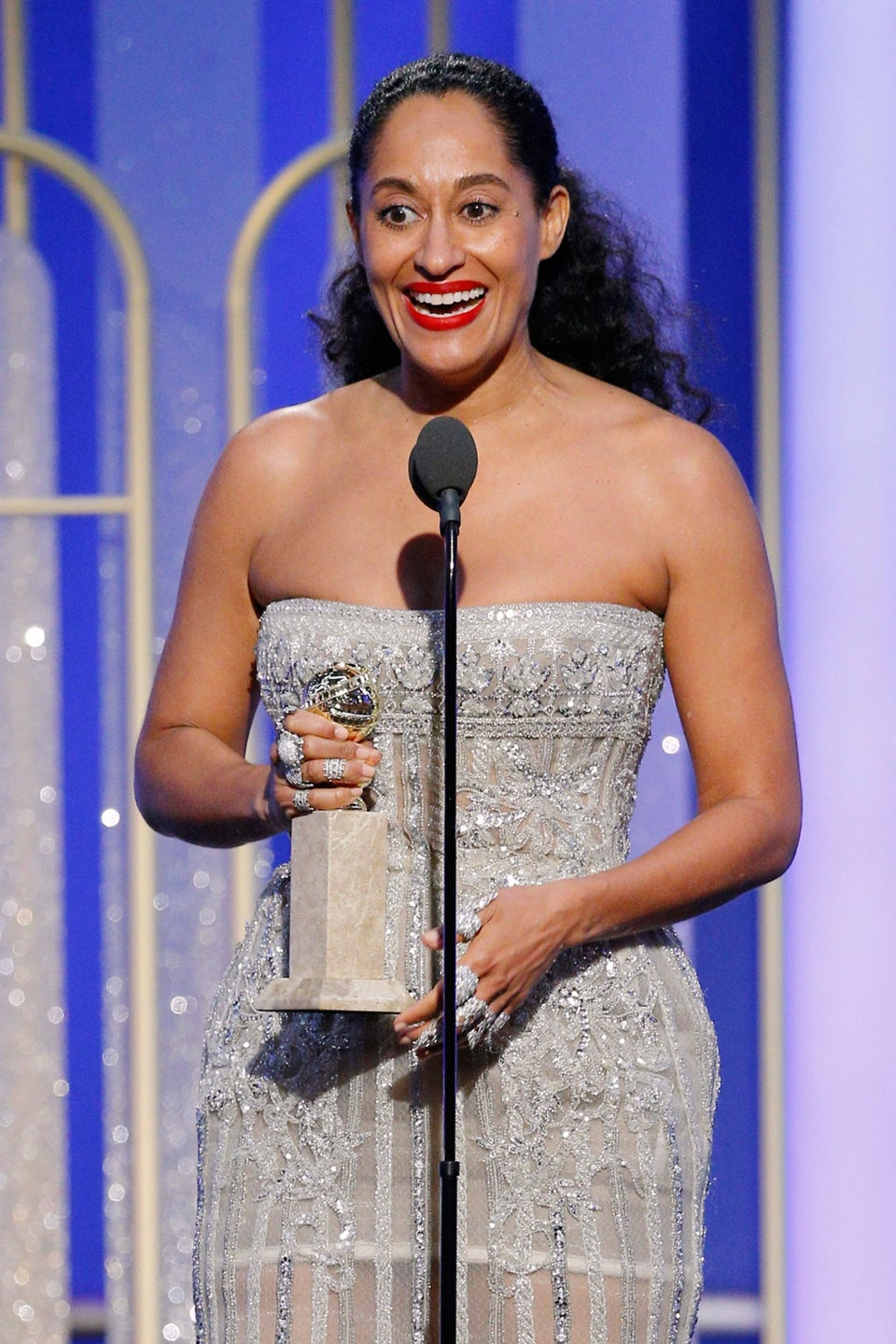 Tracee Ellis Ross Plans To Pay A Fashion Tribute To Mom Diana Ross As Host Of The American Music Awards