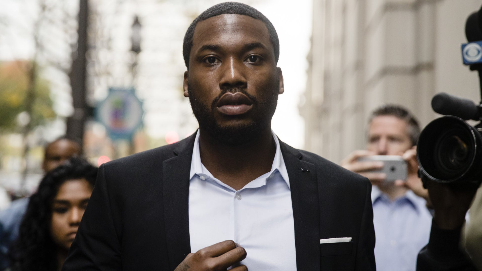 Meek Mill's Grandmother's House Vandalized With Racial Slurs