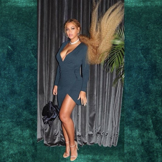 Beyonce Shows Off Killer Outfit And Hair From Serena Williams' Wedding!