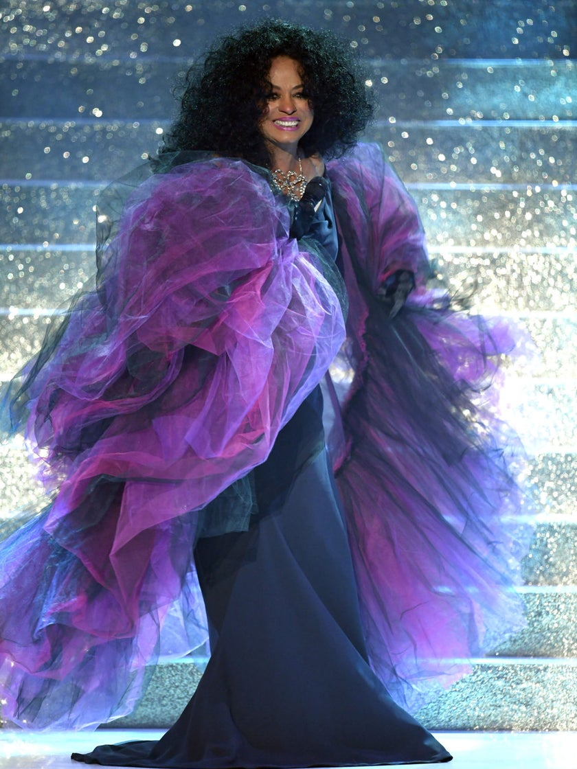 Lifetime Achievement Award Winner Diana Ross Belts Medley of Hits (and Dances with Grandkids!): 'I'm So Humbled'