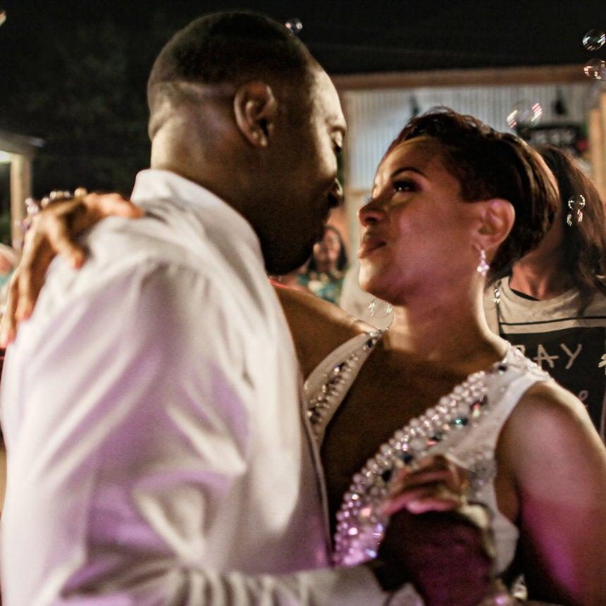Inside MC Lyte's Beautiful Love Story, Plus More Wedding Photos