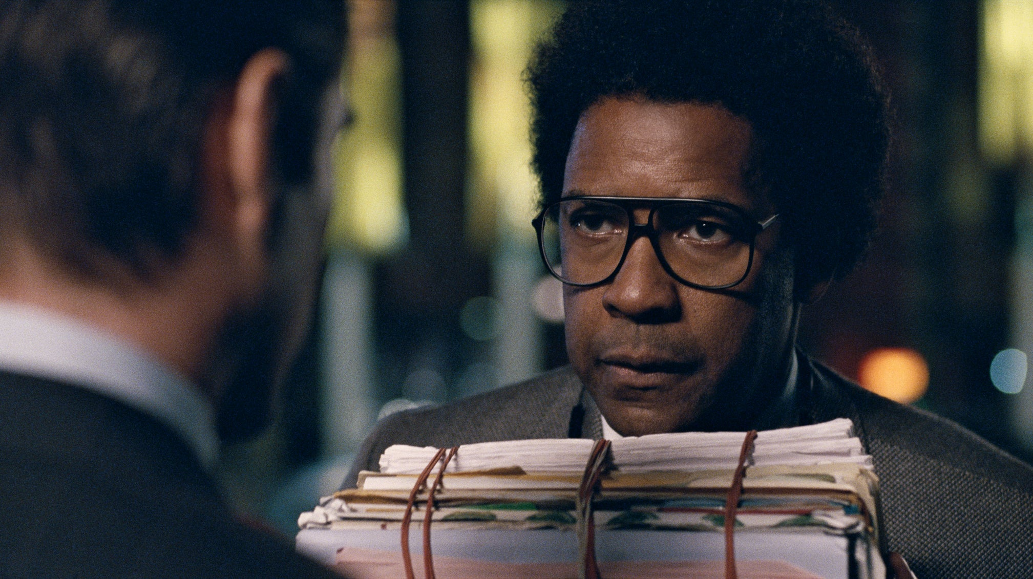 Denzel Washington Talks New Film, 'Roman J. Israel'