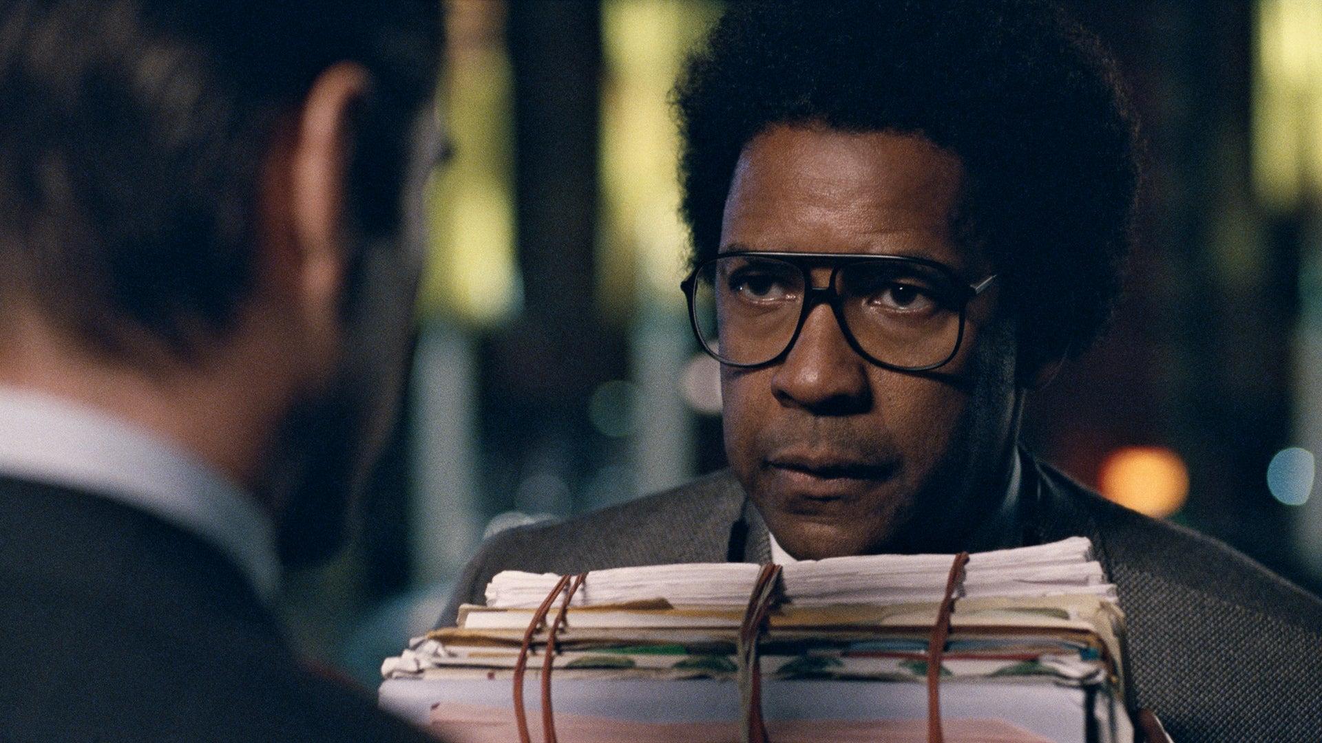 Denzel Washington Talks New Film, 'Roman J. Israel'