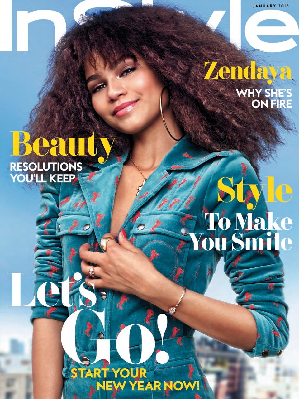 Zendaya On InStyle Jan 2018