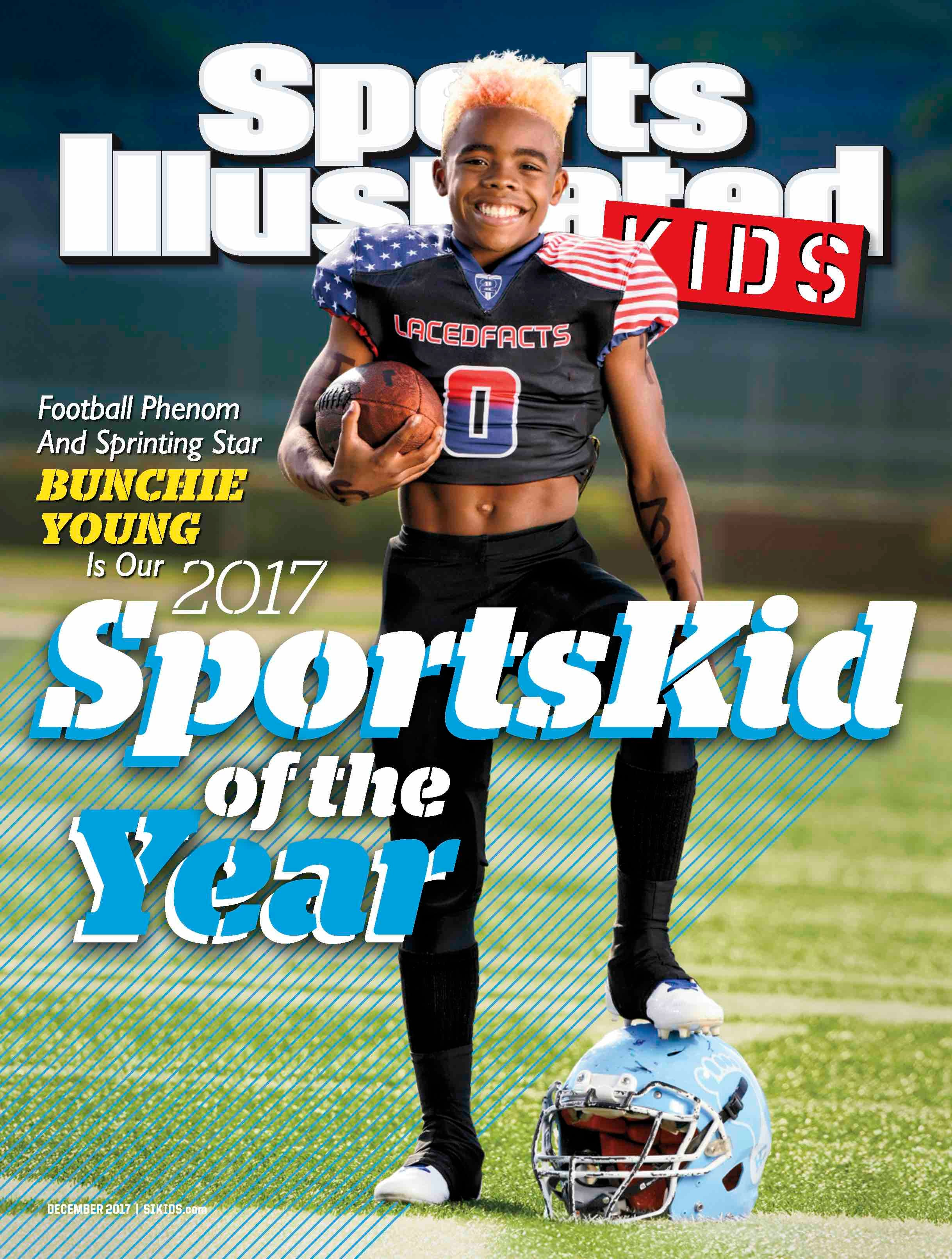 "Meet Maxwell ""Bunchie"" Young: The Sports Illustrated Kids 2017 SportsKid Of The Year"