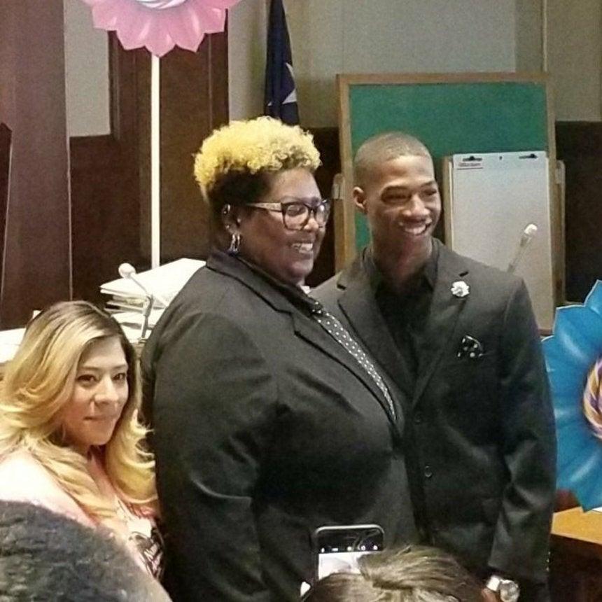 Teacher Adopts Her Student Who Was In Foster Care For 7 Years: 'Every Kid Deserves A Chance'