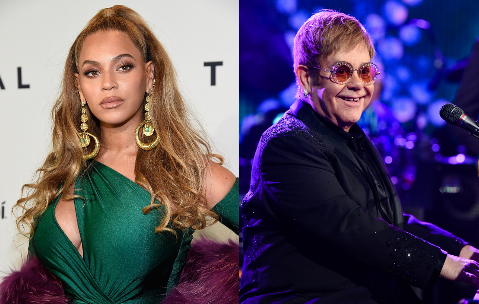 Beyoncé And Elton John Are Reportedly Working On New Versions Of 'The Lion King' Songs