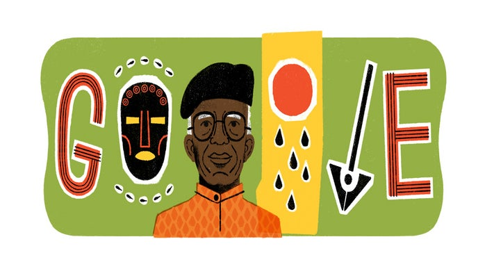 Google Doodle Honors Nigerian Novelist Chinua Achebe, Author Of Things Fall Apart