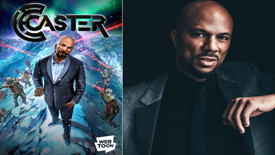 Common To Star In New Comic Series Caster