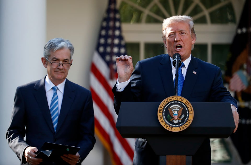President Trump Nominates Jerome Powell For Next Fed Chair
