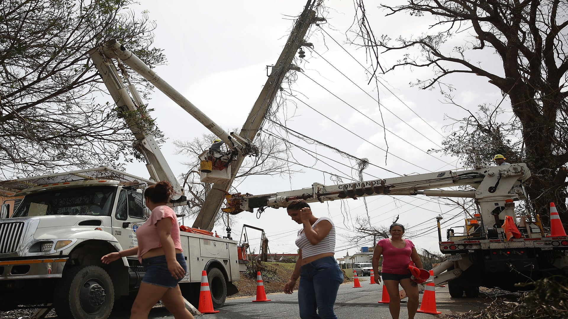 Puerto Rico Is Still Mostly Powerless After Cancelling A Controversial Energy Contract