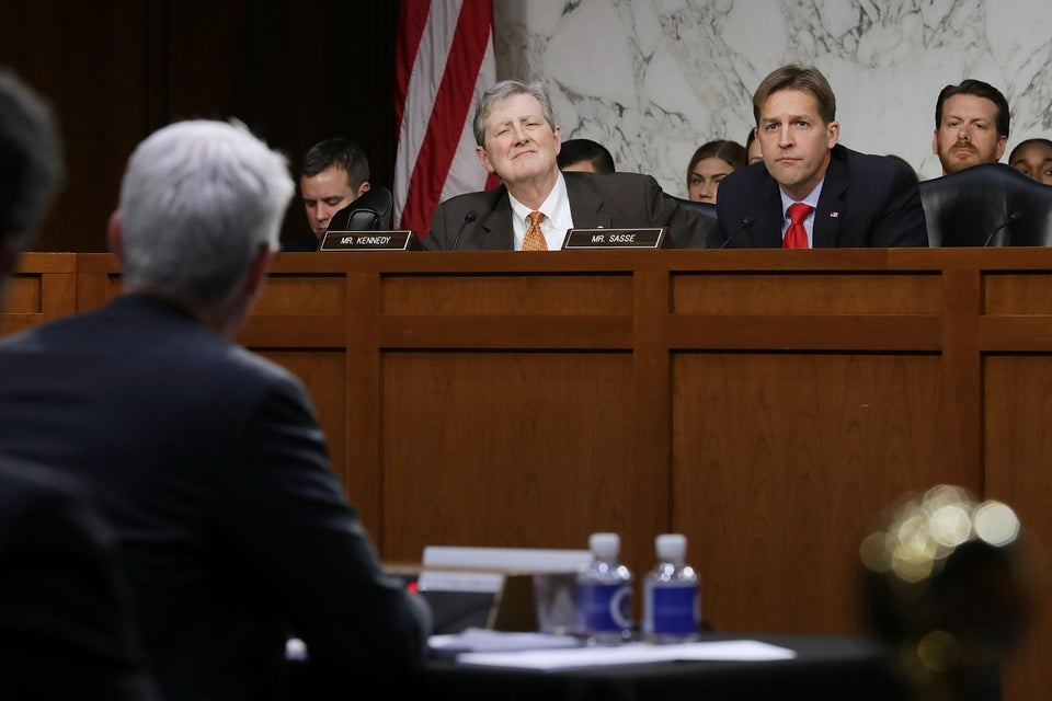 'We Are Not Going To Go Away.' U.S. Senators Rail Against Facebook, Google, Twitter Execs