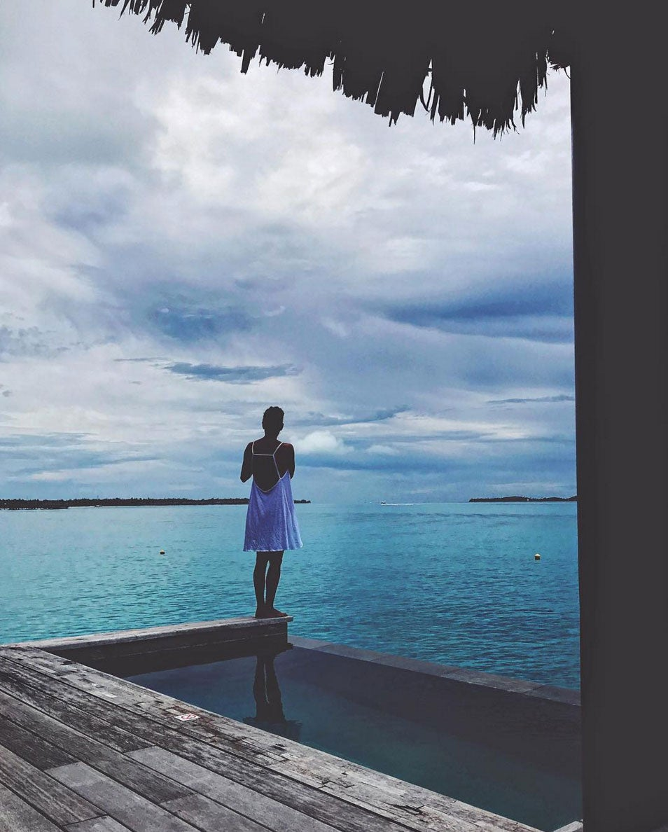 Halle Berry Is On A Picturesque Bora Bora Vacation — And Living Her 'Best Life'