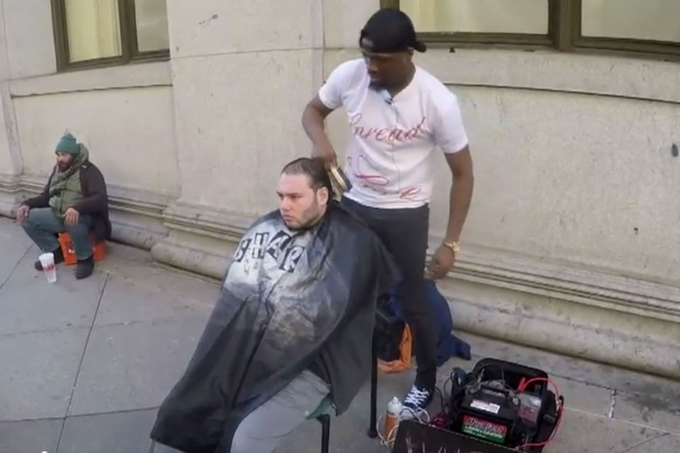 Stranger Gives Man A Barbershop So He Can Continue To Give Free Haircuts To The Homeless