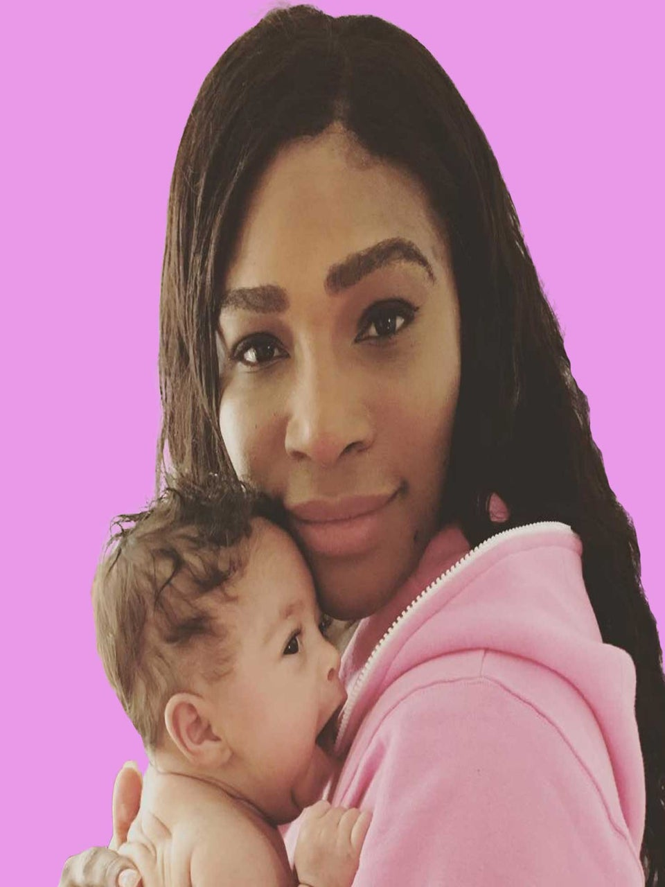 Serena Williams Turns To Twitter For Tips As Alexis Olympia Begins Teething