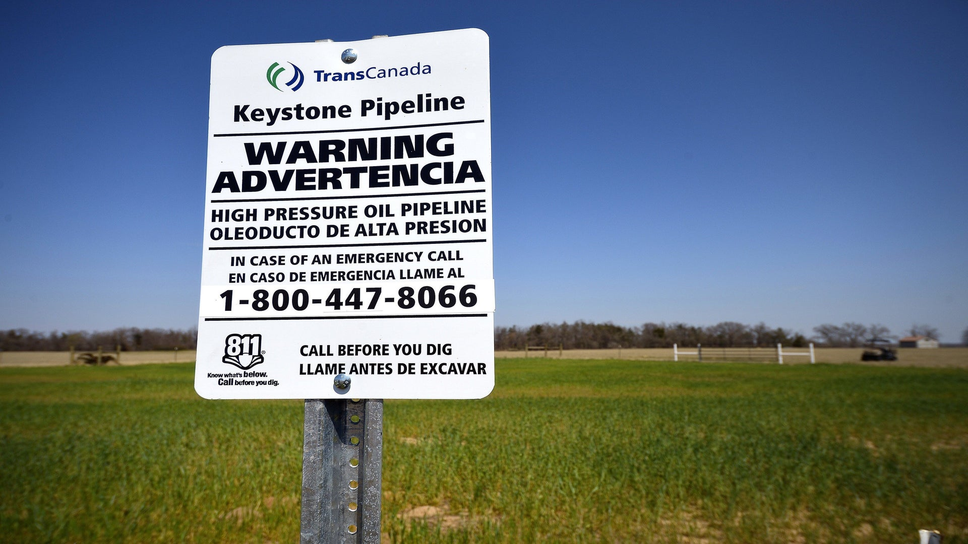 Keystone Pipeline Leaks 210,000 Gallons Of Oil In South Dakota